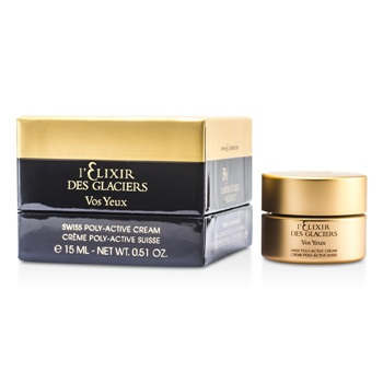 Valmont Elixir des Glaciers Vos Yeux Swiss Poly-Active Eye Regenerating Cream (New Packaging)