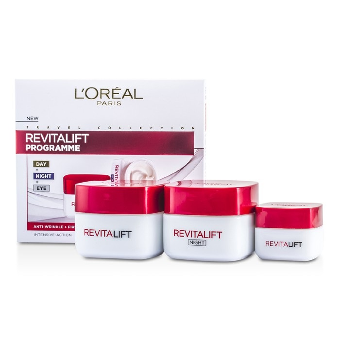 L'Oreal Revital Lift Programme: Day Cream + Eye Cream + Night Cream