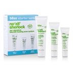 Bliss No 'Zit' Sherlock Complete Acne System: Purifying Cleanser + Moisturizer + Serum