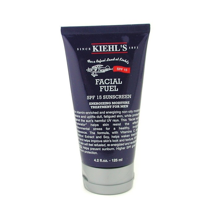 Kiehl's Facial Fuel SPF 15 Sunscreen Energizing Moisture Treatment