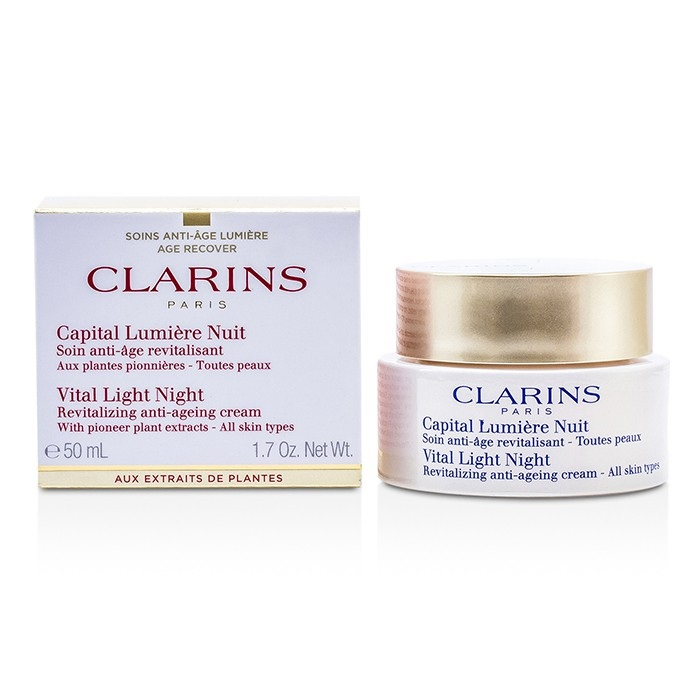 Clarins Vital Light Night Revitalizing Anti-Aging Cream