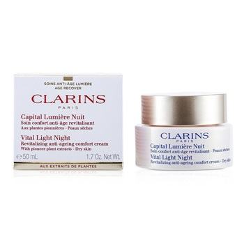 Clarins Vital Light Night Revitalizing Anti-Aging Comfort Cream