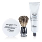 Baxter Of California Shave 1.2.3 Set: Shave Formula + Balm + Brush