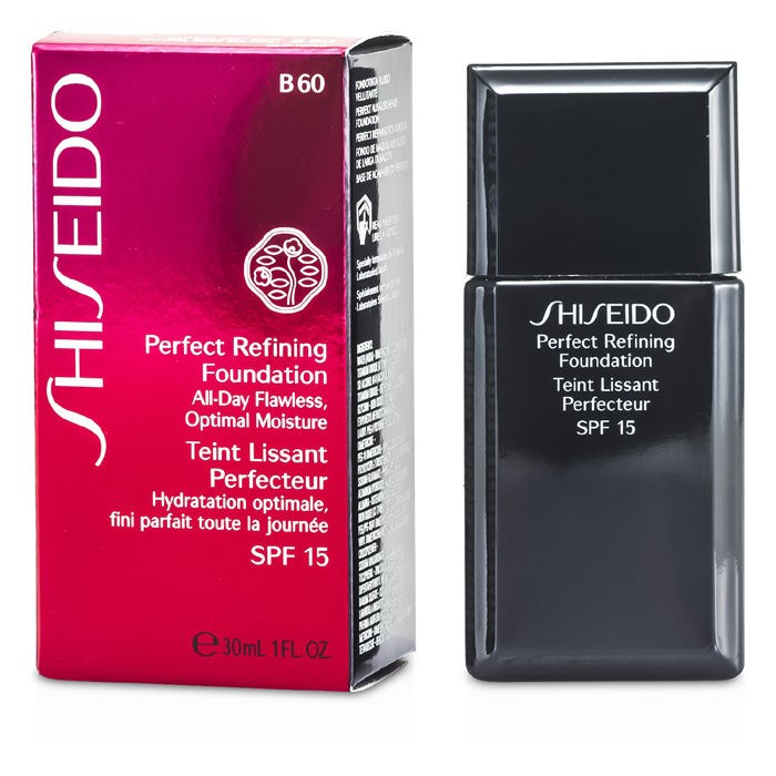Shiseido Perfect Refining Foundation SPF15 - # B60 Natural Deep Beige