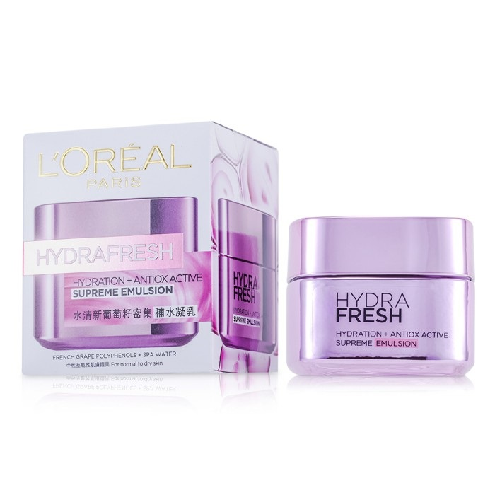 L'Oreal Hydrafresh Hydration+ Antiox Active Supreme Emulsion