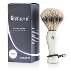 EShave Shave Brush Silvertip - White