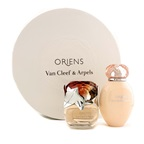 Van Cleef & Arpels Oriens Coffret: EDP Spray 50ml/1.7oz + Body Lotion 150ml/5oz (Round Box)