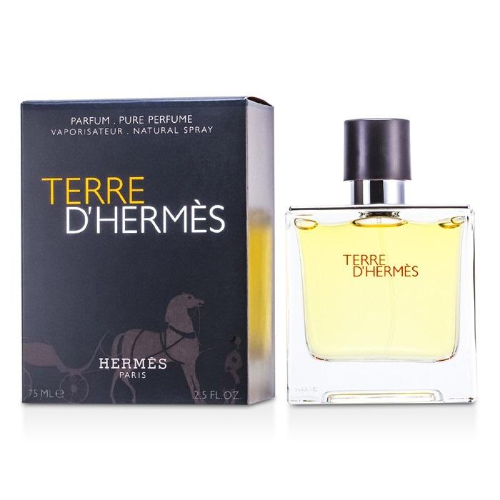 hermes terre d 39 hermes pure parfum spray the beauty club. Black Bedroom Furniture Sets. Home Design Ideas