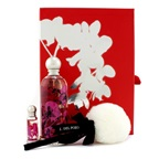 Jesus Del Pozo Halloween Kiss Coffret: EDT Spray 100ml/3.4oz + Glitter Body Powder 5g/0.17oz+ Miniature 4ml/0.13oz