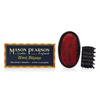Mason Pearson Boar Bristle - Large Extra Military Pure Bistle Large Size Hair Bush (Dark Ruby)
