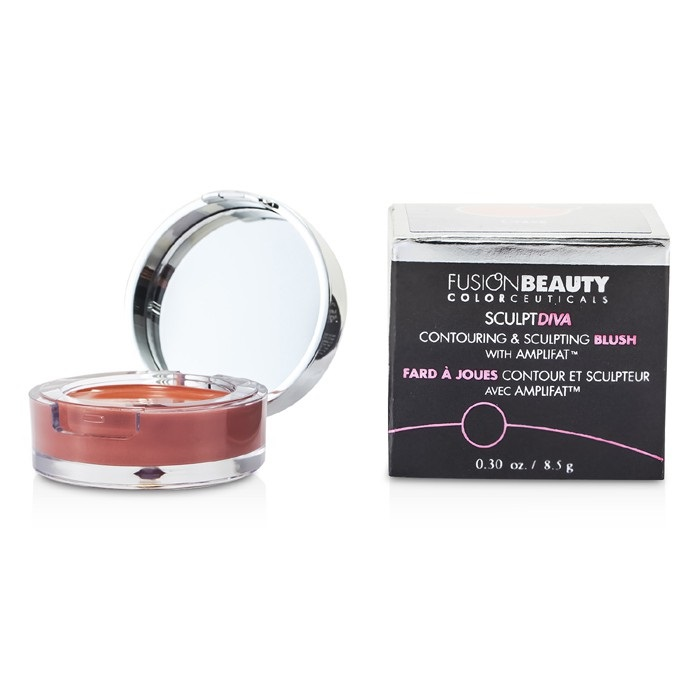 Fusion Beauty SculptDiva Contouring & Sculpting Blush With Amplifat - # Crave