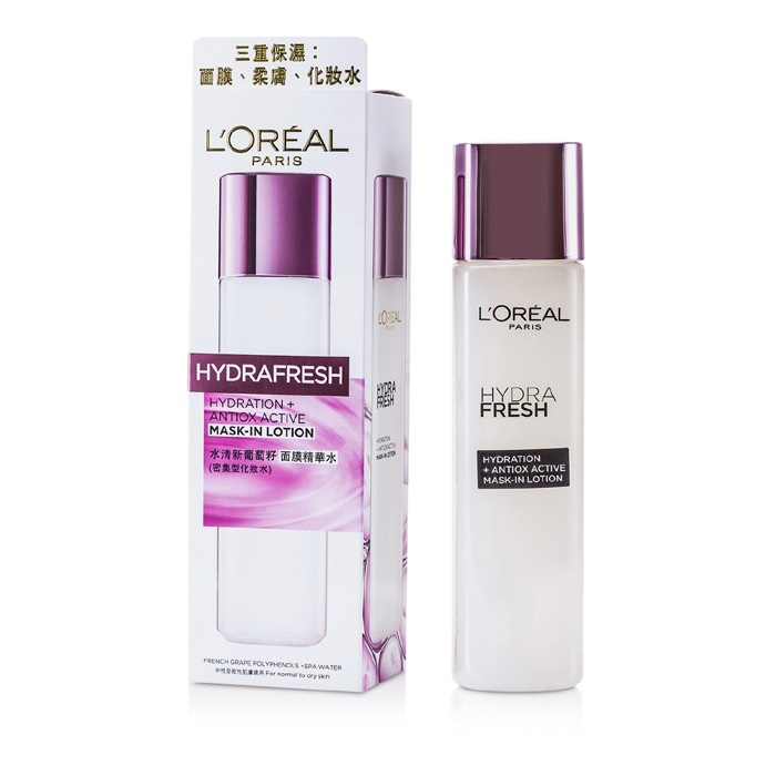 L'Oreal Hydrafresh Hydration+ Antiox Active Mask-In Lotion