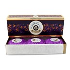 Roger & Gallet Gingembre (Ginger) Perfumed Soap Coffret