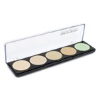 Make Up For Ever 5 Camouflage Cream Palette - # 1 (Very Light Complexions)