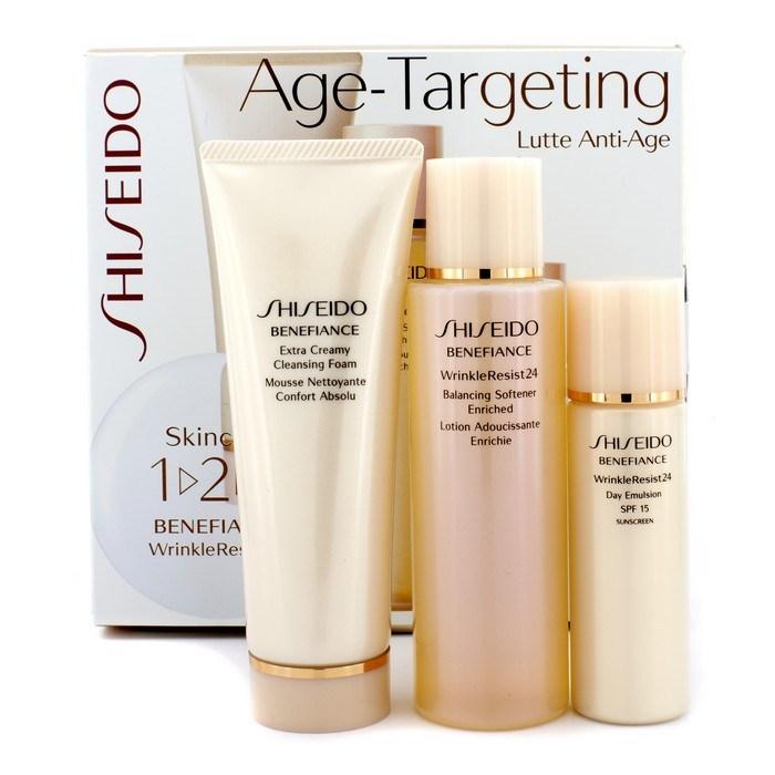 shiseido benefiance wrinkle repair kit for eyes