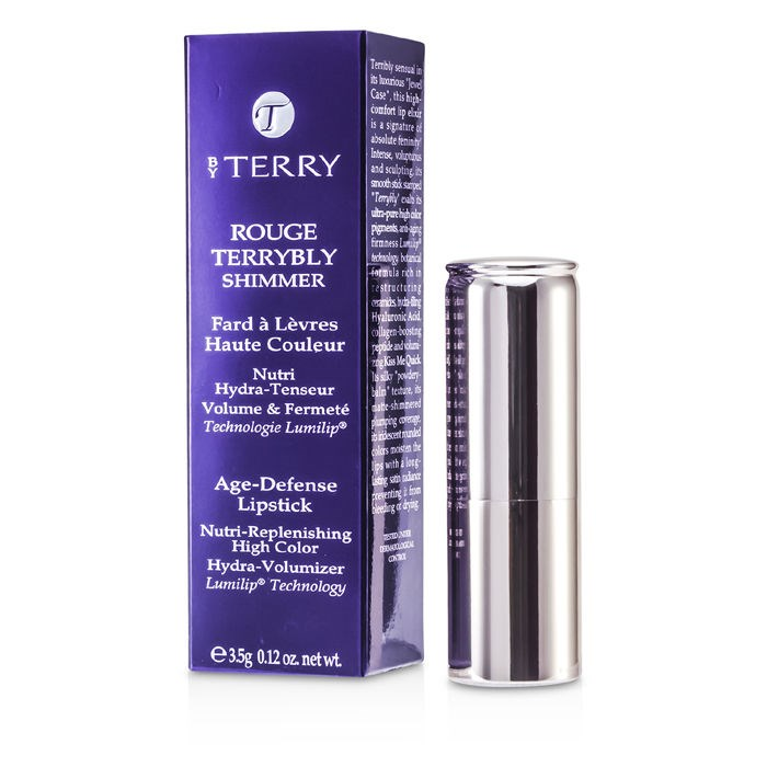 By Terry Rouge Terrybly Shimmer Age Defense Lipstick - # 803 Love Affair --3.5g/0.12oz By By Terry