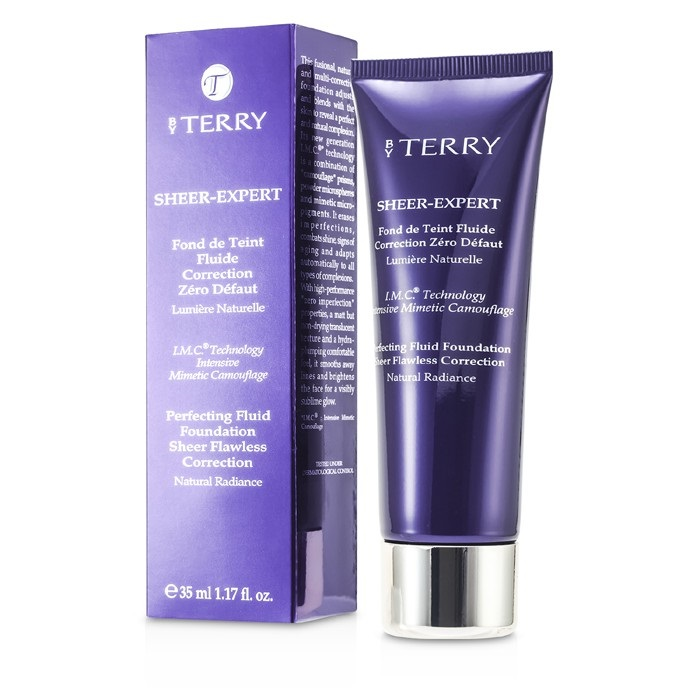 By Terry Sheer Expert Perfecting Fluid Foundation - # 3 Cream Beige
