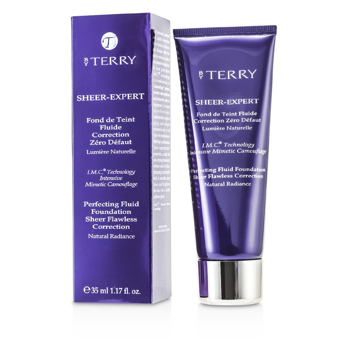 ce3f2446d0f1 By Terry Sheer Expert Perfecting Fluid Foundation -   8 Intense Beige.  Loading zoom