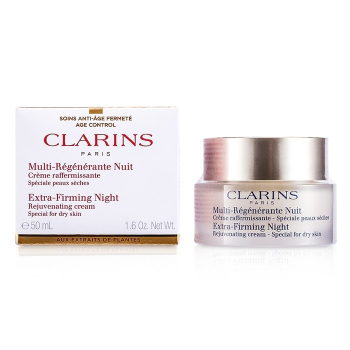 Clarins Extra-Firming Night Rejuvenating Cream - Special for Dry Skin