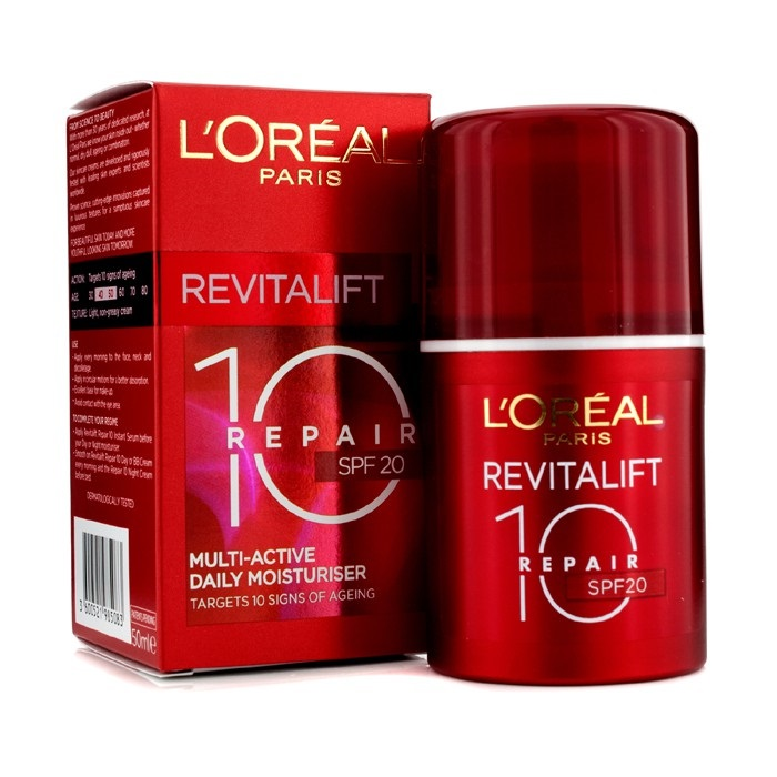 L'Oreal Dermo-Expertise RevitaLift Repair 10: Multi-Active Daily Moisturiser SPF20