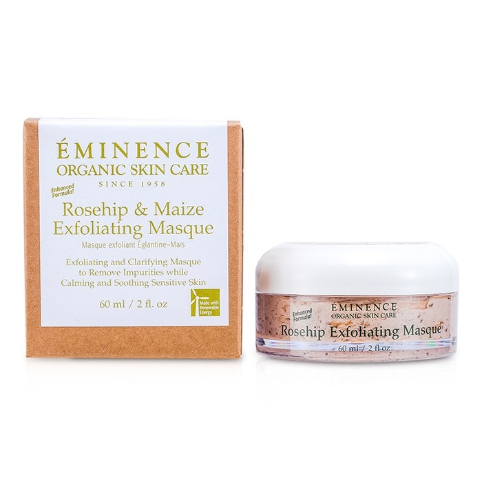 Eminence Rosehip & Maize Exfoliating Masque (Enchanced Formula) - For Sensitive Skin
