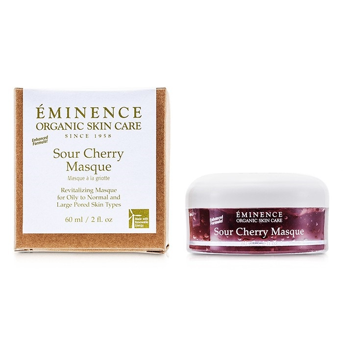 Eminence Sour Cherry Masque - For Oily to Normal & Large Pored Skin