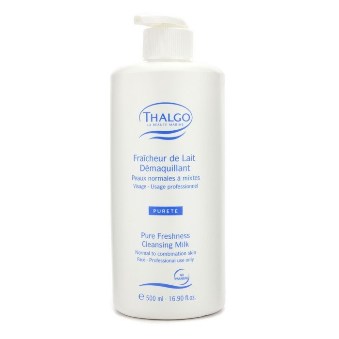 Pure Freshness Cleansing Milk (N/C) (Salon Size) 500ml16.90oz SALICA Acne Face Wash and Cleanser with Salicylic Acid