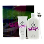 Calvin Klein CK One Shock For Her Coffret: EDT Spray 200ml/6.7oz + Body Lotion 100ml/3.4oz
