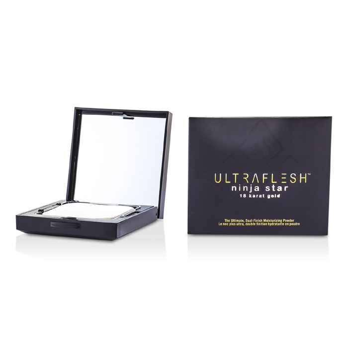Fusion Beauty Ultraflesh Ninja Star 18 Karat Gold Dual Finish Moisturizing Powder - # Suffused