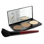 Smashbox Step By Step Contour Kit (1 x Contour Palette + 1 x Contour Brush) - (Light/Medium)