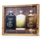 H2O+ Sea Moss Replenishing Body Wash Collection: Body Wash 250ml + Shower Cream 250ml + Replenishing Body Wash 250ml