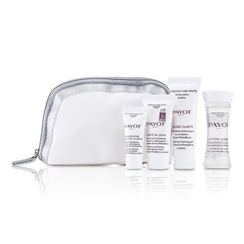 Payot Absolute Pure White Kit: Lotion 30ml +  Mousse Clarte 25ml + Clarte Du Jour 15ml + Concentre Anti-soif Clarte 10ml