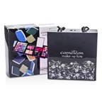 Cameleon MakeUp Kit 398: (72x Eyeshadow, 2x Powder, 3x Blush, 8x Lipgloss, 1x Mini Mascara, 6x Applicator)