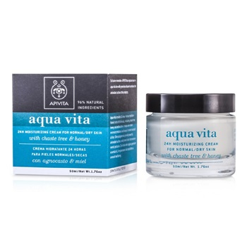 Apivita Aqua Vita 24H Moisturizing Cream (For Normal/Dry Skin)