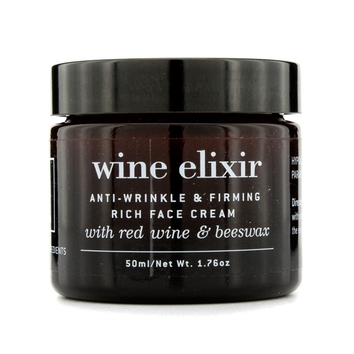 Wine Elixir Anti-Wrinkle & Firming Rich Face Cream 1.76oz Thalgo - Melt Away Mask Instant Comfort (Dry to Very Dry Skin) - 50ml/1.69oz