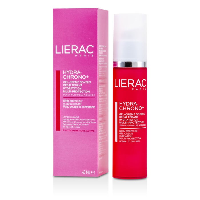 Lierac Hydra Chrono Silky Moisture Gel Cream Normal To