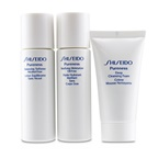 Shiseido Pureness Simple Start For Oil-Control Set: Deep Cleansing Foam + Balancing Softener + Matifying Moisturizer Oil-Free
