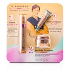 Dr Robert Rey Sensual Solutions Set: Cleanser 45ml + Wrinkle Filler 14.2g + Wrinkle Erase 48g