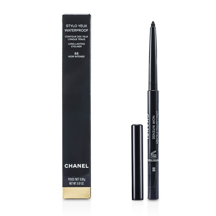 Chanel Stylo Yeux Waterproof - # 88 Noir Intense