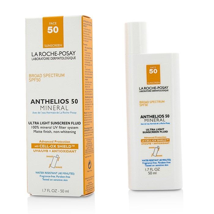 La Roche Posay Anthelios 50 Mineral Ultra Light Sunscreen Fluid Skincare