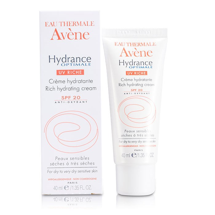 Avene Hydrance Optimale Uv Rich Hydrating Cream Spf 20