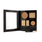 Laura Mercier The Flawless Face Book - # Sand (1x Creme Compact, 1x Pressed Powder w/ sponge, 1x Secret Camouflage...)