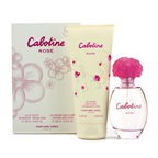 Gres Cabotine Rose Coffret: EDT Spray 100ml/3.4oz + Perfumed Body Lotion 200ml/6.76oz