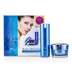 HydroPeptide Anti-Wrinkle Polish & Plump Peel:Anti-Wrinkle Polishing Crystals 30ml/1oz + Anti-Wrinkle Plumping Ac