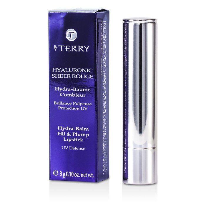 By Terry Hyaluronic Sheer Rouge Hydra Balm Fill & Plump Lipstick (UV Defense) - # 10 Berry Boom