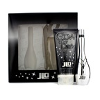 J. Lo Glow After Dark Coffret: EDT Spray 50ml/1.7oz + Night Bright Body Lotion 200ml/6.7oz