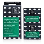 Apivita Express Beauty Dark Circles & Eye-Puffiness Mask with Ginkgo Biloba