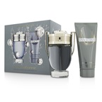 Paco Rabanne Invictus Coffret: EDT Spray 100ml/3.4oz + All Over Shampoo 100ml/3.4oz