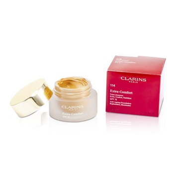 Clarins Extra Comfort Foundation SPF15 - # 114 Cappuccino