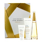 Issey Miyake L'Eau D'Issey Absolue Coffret: EDP Spray 50ml/1.6oz + Body Lotion 75ml/2.5oz + Shower Gel 30ml/1oz